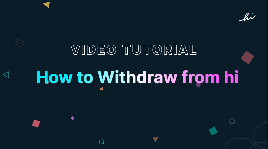 withdraw crypto tutorial