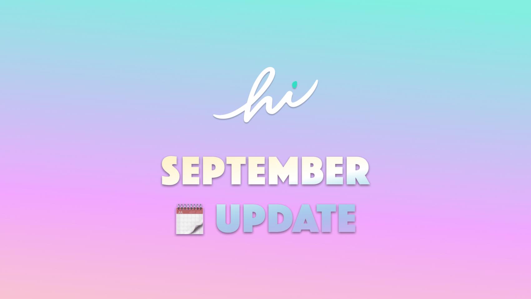september-update